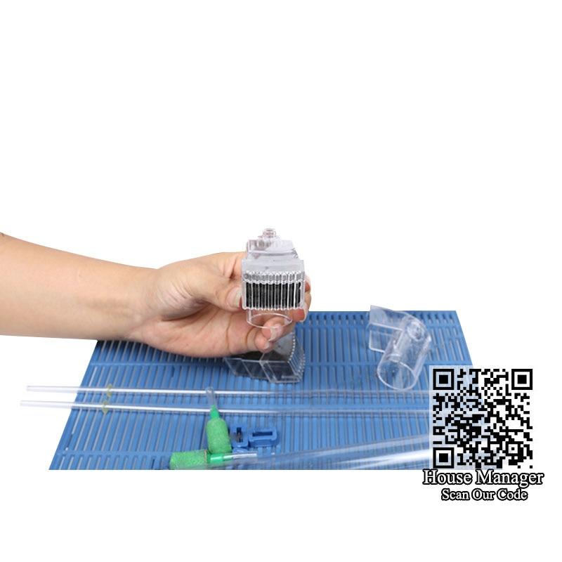 Аквариум Воздушный подъемник нижний фильтр для растений аквариум 2х воздушный