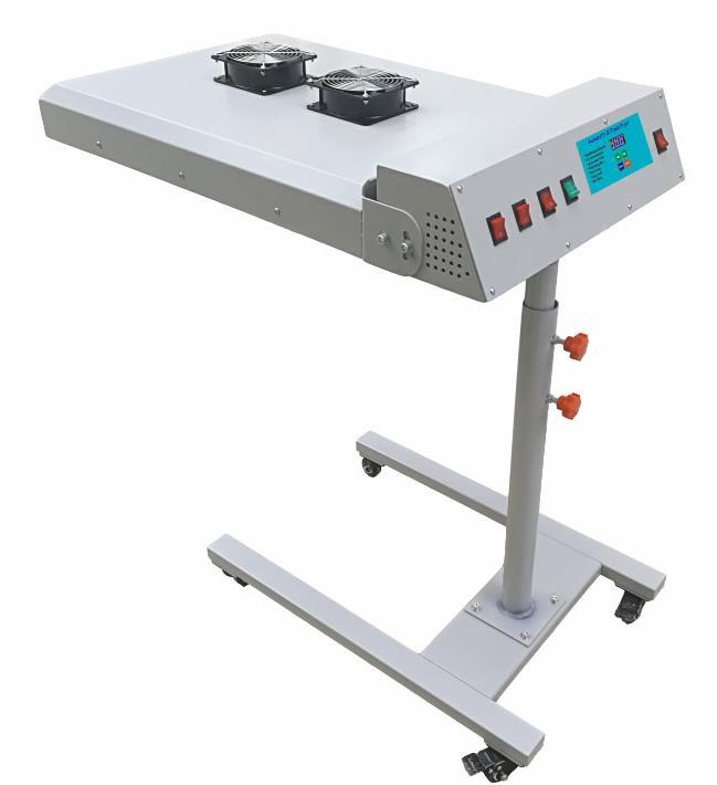 Intelligent Automatic IR Silk Screen Printing Flash Dryer with sensor 2 modes 3 levels T-shirt Drying Machine