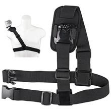 For Gopro Accessories Shoulder Strap Mount  Sports Camera Shoulder Chest Strap Supports Belt For Gopro Hero 8 7 6 5 4 For YI DJI