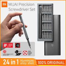 Оригинальная отвертка Xiaomi Mijia 24 в 1 Набор прецизионных отверток Набор инструментов магнитные биты ремонтные инструменты Xiomi для умного дома