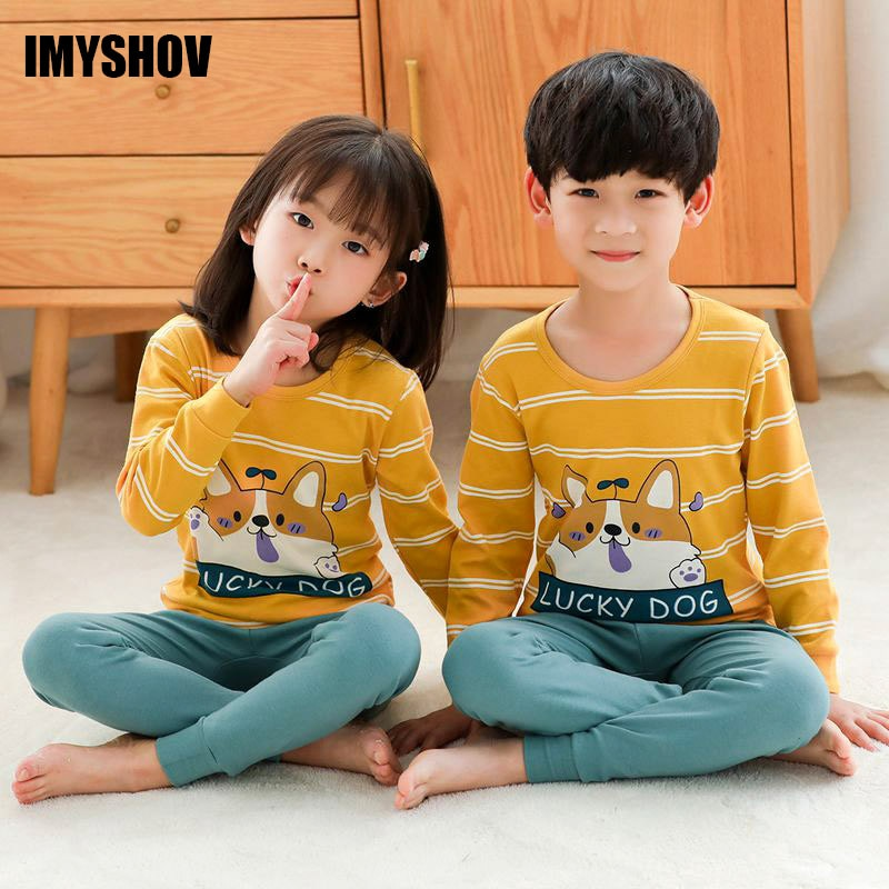 Pijamas de Navidad para niños, pijamas de niño para niñas, conjuntos de pijamas de niño niña, pijamas acanalados para niños, ropa de dormir Infantil para niños