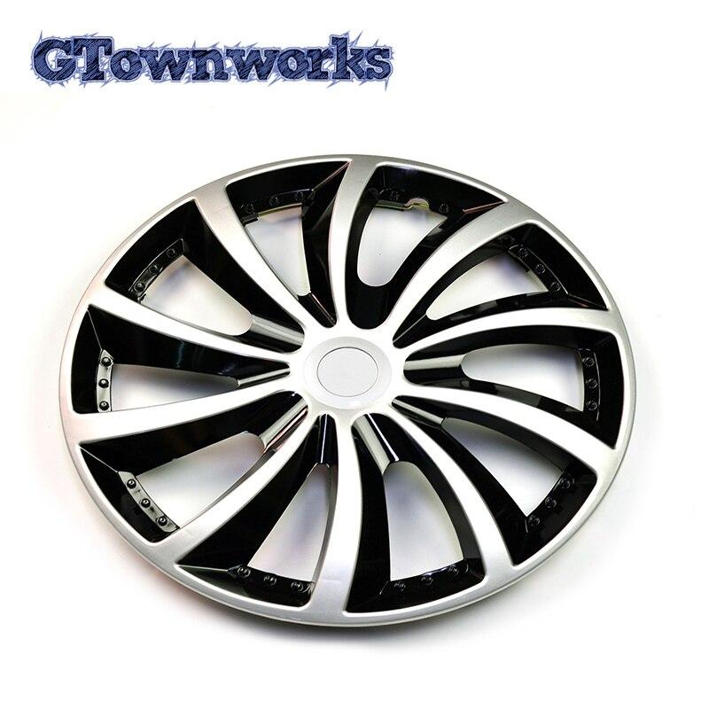 "1 peça 14 ""cubo de roda tampa r14 aro centro capa universal 10 roda falou clipe no hubcap para reequipamento do carro alta qualidade"