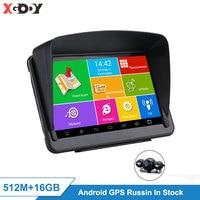 XGODY Android 7'' Car GPS Navigation Tablet PC 16GB WiFi Auto GPS Car Navigator Sat Nav Navitel Optional Russia Free Map EU 2020