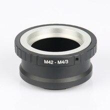 Bague adaptateur dobjectif M42-M4/3 pour Panasonic GF3 Olympus E-P1 EP3 Takumar M42 objectif et Micro 4/3 M4/3 monture