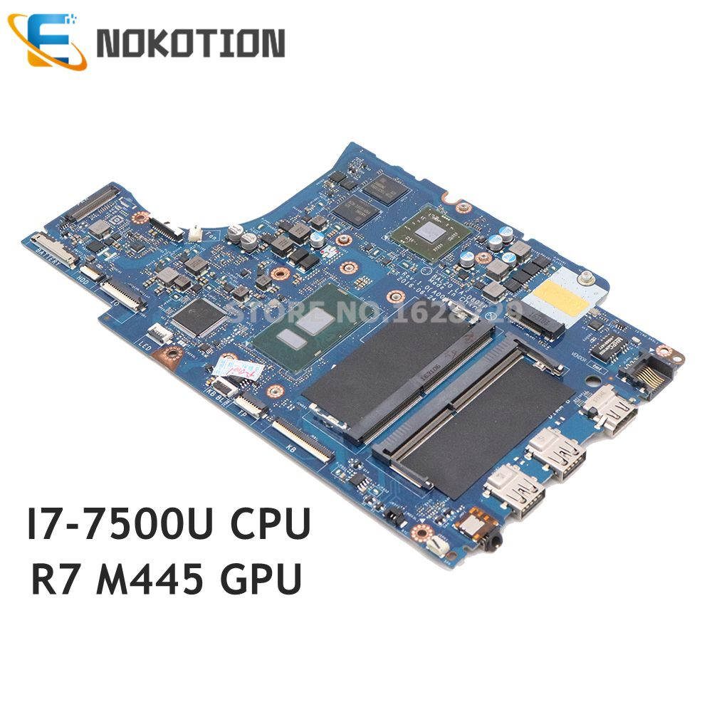 NOKOTION CN-0CV3V4 BAL20 LA-D801P Tablero Principal para Dell Inspiron 15-5567 5567 portátil placa base DDR4 I7-7500U CPU R7 M445 GPU
