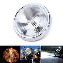 Universal Motorcycle Headlight Beam Headlight Round LED HeadLamp for Honda Z50AK Mini Trail 1972-1975 Z50A Mini Trail 1976-1978