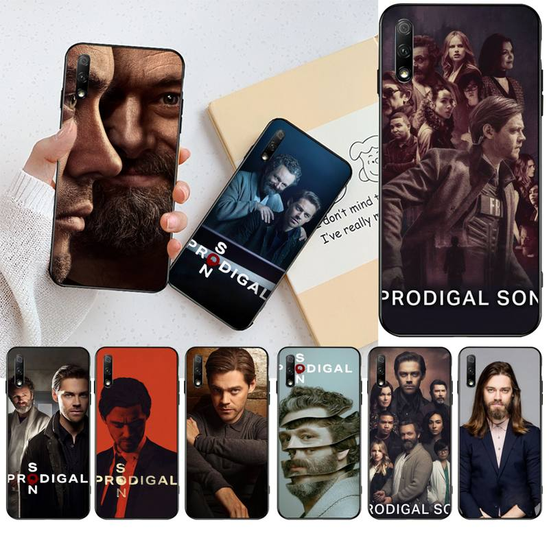 NBDRUICAI Prodigal Son Tom Payne DIY Painted Bling Phone Case for Huawei Honor 20 10 9 8 8x 8c 9x 7c 7a Lite view pro