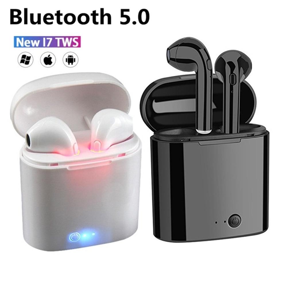 Hot Sale i7s TWS Bluetooth Earphone For All Smart Phone Sport headphones Stereo Earbud Wireless Earphones In-ear