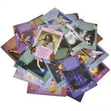 Oracled 타로 카드 44 pcs 귀하의 천사에서 메시지 가족 게임 테이블 게임 카드 행복한 파티 엔터테인먼트 데스크 게임 카드 놀이