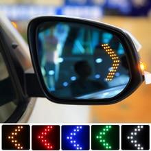 Auto Styling 14 SMD LED Blinker Licht Für Hyundai Solaris i30 Akzent Creta Tucson Santa fe ix35 i20 Auto rückspiegel Lampe