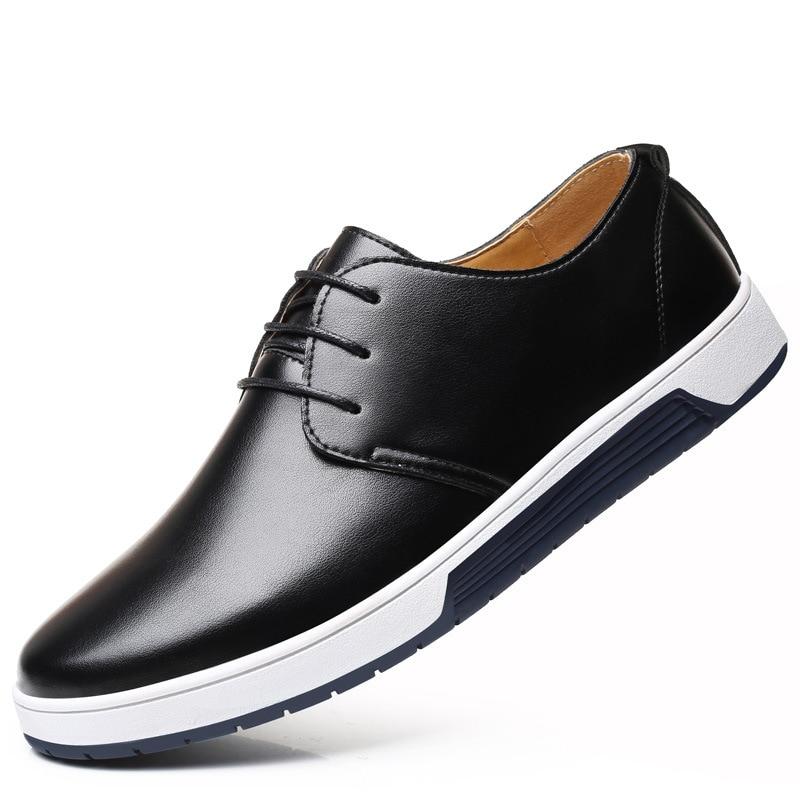 Мужские туфли, Новинка осени 2021, модная обувь, мужские повседневные кожаные туфли, модные туфли, мужские кожаные туфли с мягкой подошвой туфли berkonty туфли