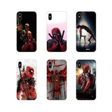 Per Xiao mi mi 4 mi 5 mi 5S mi 6 mi A1 A2 A3 5X 6X 8 CC 9 T Lite SE Pro Carino Deadpool Fun Art Accessori Del Telefono Borsette Coperture
