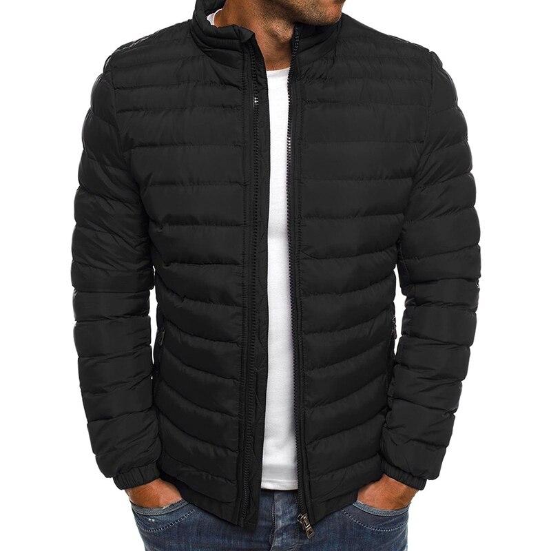 New Winter Jackets Parka Men Warm Outwear Long Sleeve Slim Fit Mens Coats Casual Windbreaker Quilted Jackets Men