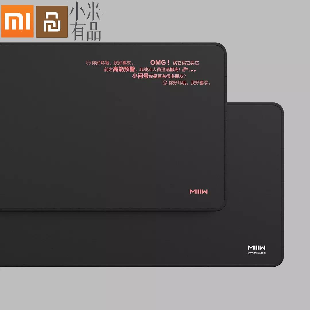Original MIIIW Xiaomi Large Gaming Mouse Pad Game Mouse Mat For Laptop Keyboard Pad Desk Mat xiaomi Notebook Lol Gamer Mousepad
