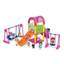 LOL surprise poupées fille paly maison jouets lols poupées ensemble bricolage parc dattractions balançoire toboggan figurine pour enfant cadeaux danniversaire
