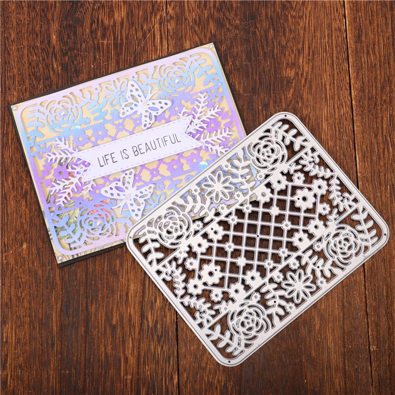 DiyArts фоновые режущие штампы папки для тиснения карт трафареты шаблоны для Diy скрапбукинга Горячая фольга штампы оптом