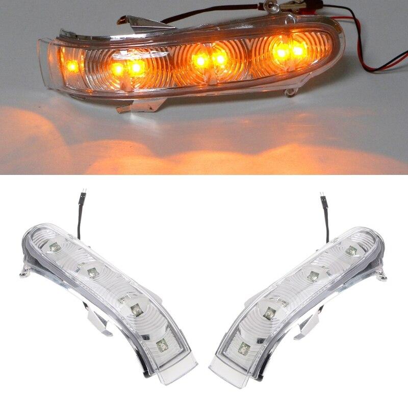2x ön dönüş sinyalleri ışıkları yan aynası dönüş sinyali Mercedes W220 W215