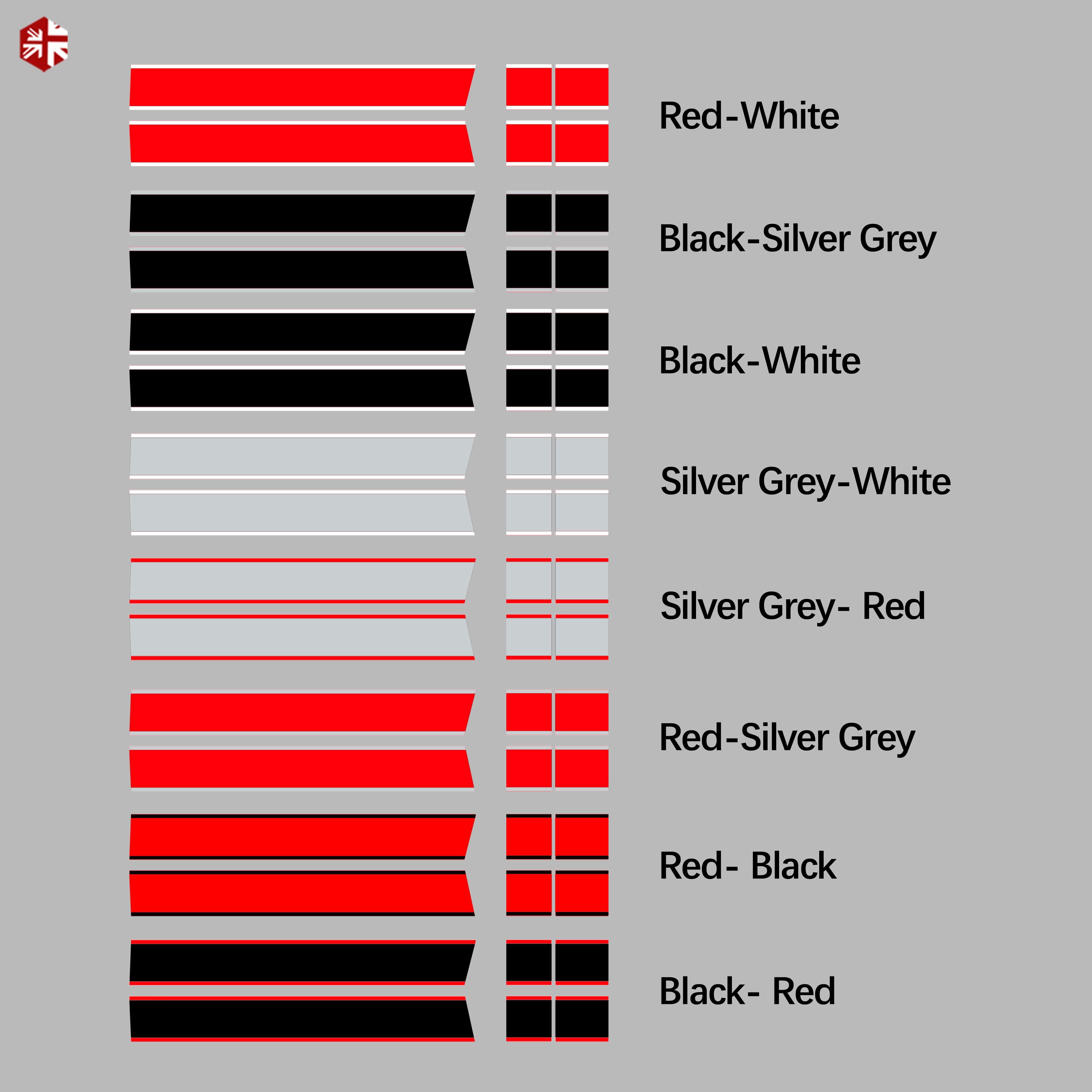 Car Hood Decal Engine Cover Rear Trunk Line Vinyl Bonnet Stripe Sticker For MINI Cooper F55 F56 F57 R56 R57 One JCW Accessories