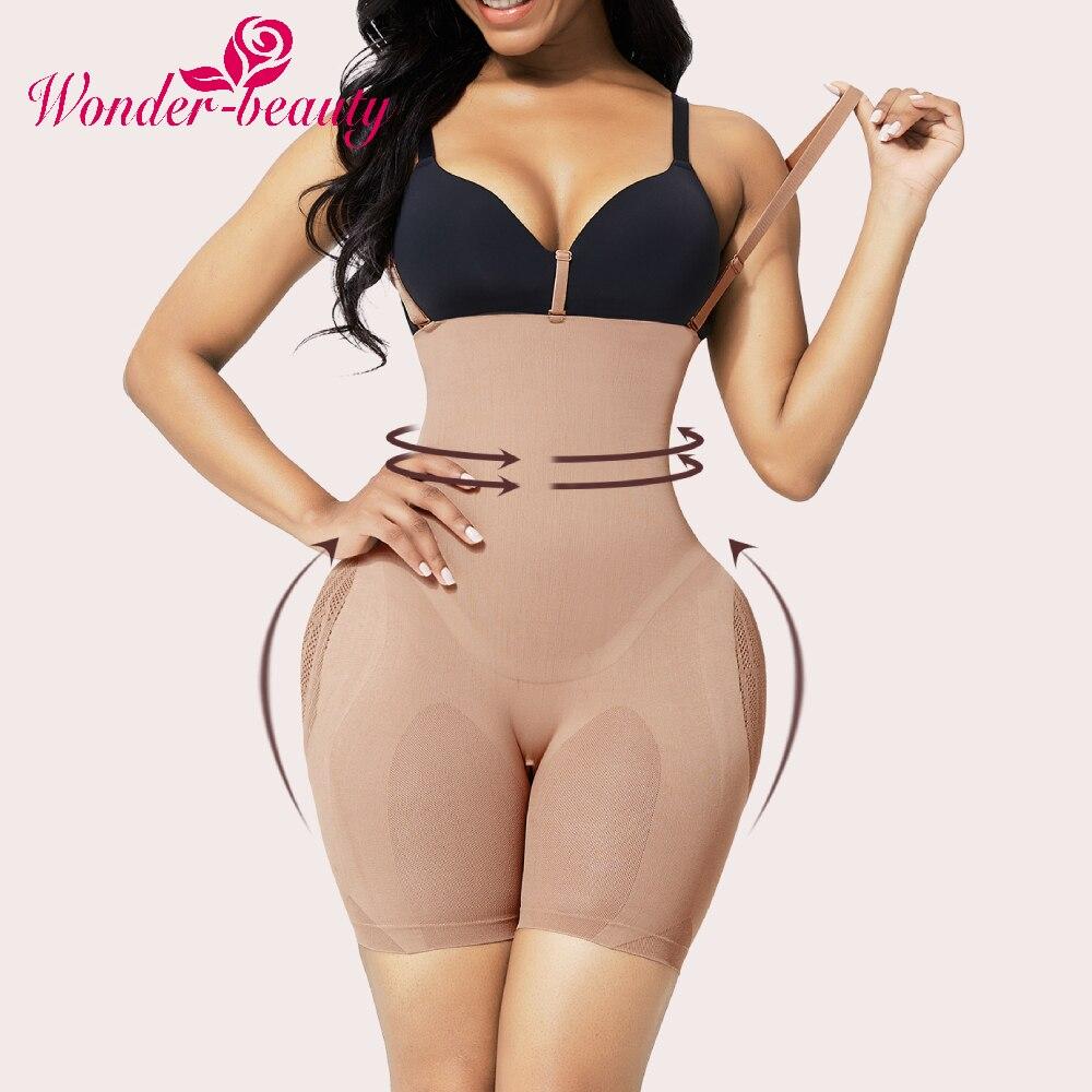 WonderBeauty Fajas Colombian Reductive Girdles Shapewear High Waist Slimming Sheath Belly Tummy Control Pantie Full Body Shaper