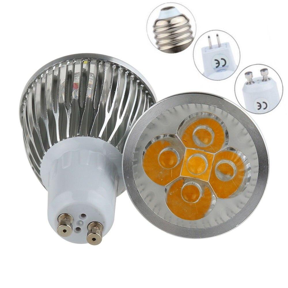 GU10 E27 MR16 E14 B22 bombilla LED 9W 12W 15W bombilla LED regulable 110V 220V cálido/puro/frío blanco 60 haz ángulo de iluminación de la lámpara