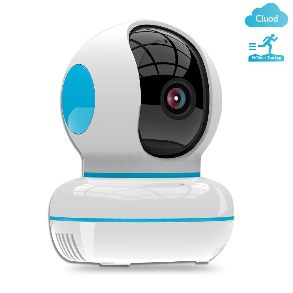 Cámara IP Pripaso 1080P Cloud, red inalámbrica de seguridad para el hogar, cámara de vigilancia para bebés con WiFi, seguimiento automático inteligente YCC365Plus