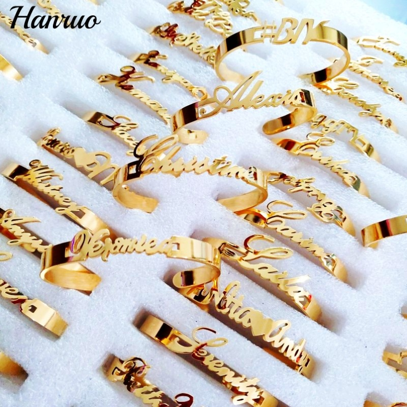 Personalized Custom Name Bracelet Stainless Steel Nameplate Bracelets For Baby Women Men Charm Bangle Customized Family Jewelry personalized stainless steel braided rope charm bracelets custom name leather bracelet with 2 5 names beads for family men gifts