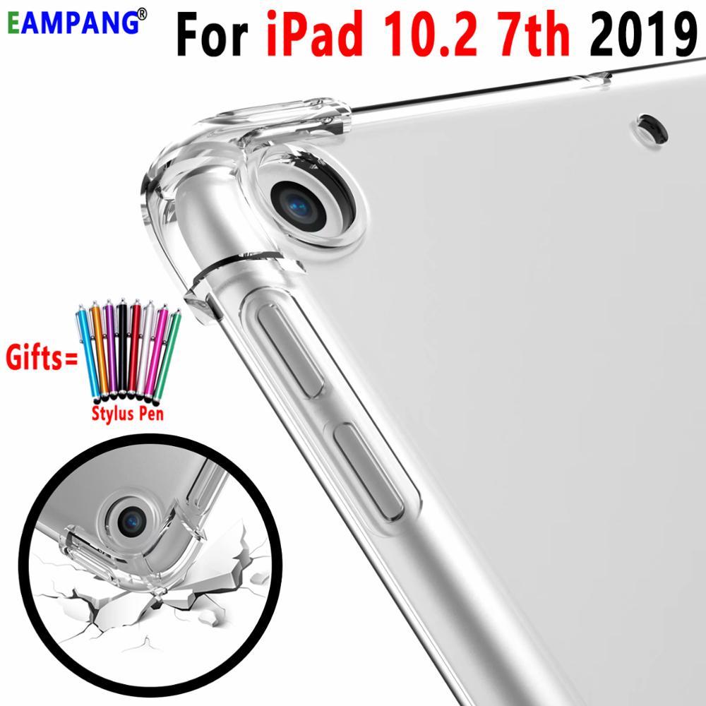 Для iPad 10,2 Чехол ударопрочный мягкий чехол из термополиуретана и силикона для Apple iPad 10,2 2019 7th поколения A2200 A2198 A2232 A2197 Funda