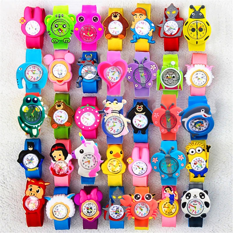 21 Patterns Turtle Toys Children Watches for Boys Girls Baby Birthday Gift Kids Digital Watch Child