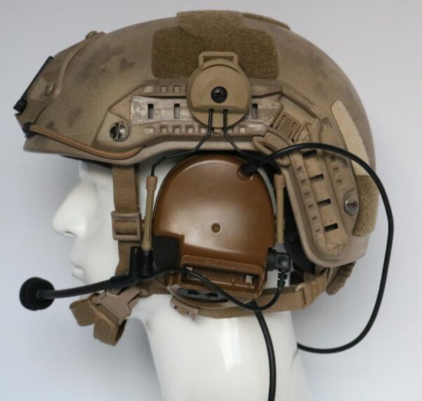 TAC-SKY COMTAC III helmet bracket silicone earmuff version outdoor sports noise reduction pickup military tactical headset CB
