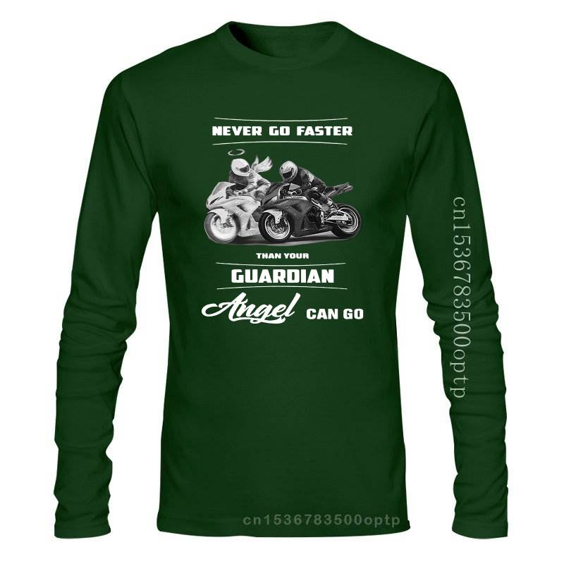 New Unique Never Go Faster Than Your Angel Can - Guardian T Shirt T Shirt Elegant 2021 2021est Fashion