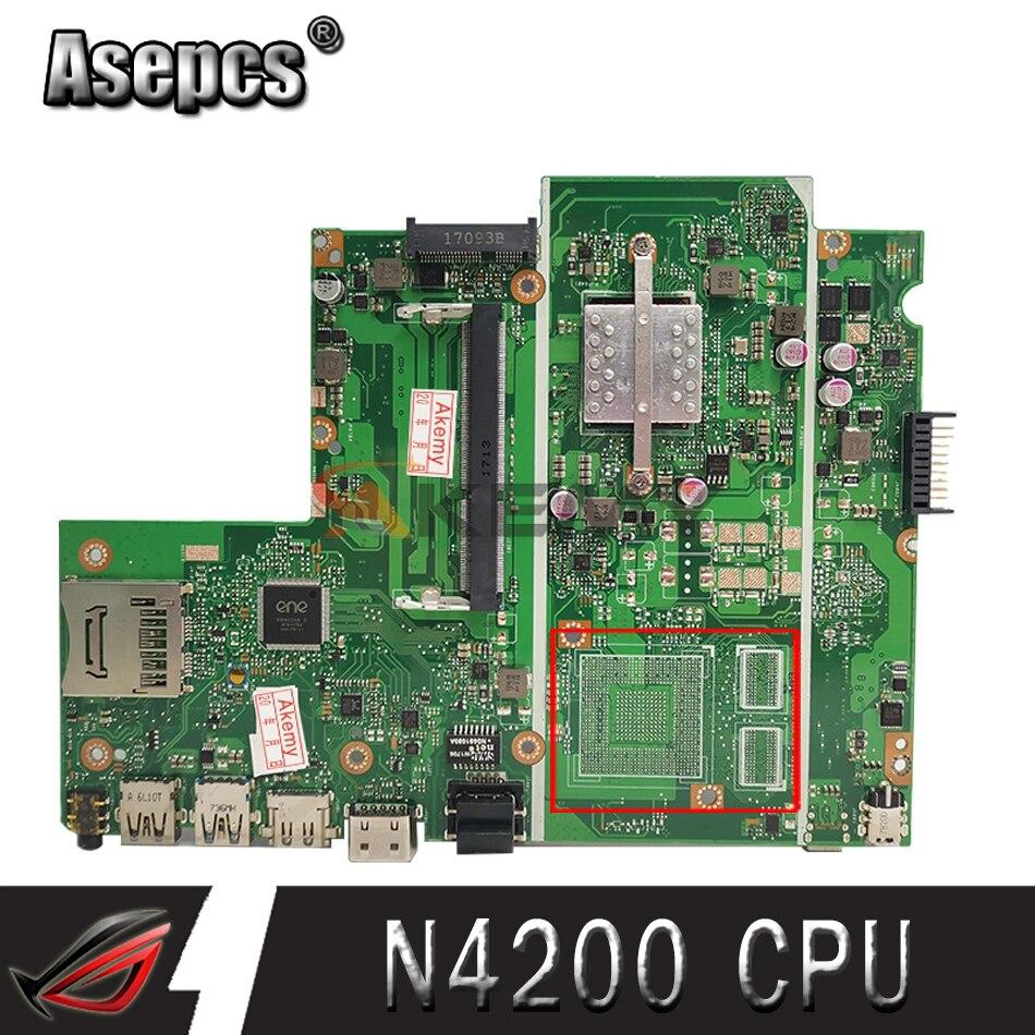 X541NA REV2.1 يصلح ل ASUS X541NC X541N N4200 CPU اللوحة الأم اختبار اللوحة العمل 100%