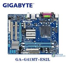 LGA 775 G41 DDR3 Gigabyte GA-G41MT-ES2L 100% Motherboard USB2.0 8G GA G41MT ES2L Desktop SATA II Systemboard PCI-E X16 Used