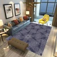 psychedelic geometry carpet mat for living room doormat flannel print bedroom non slip floor rug 06