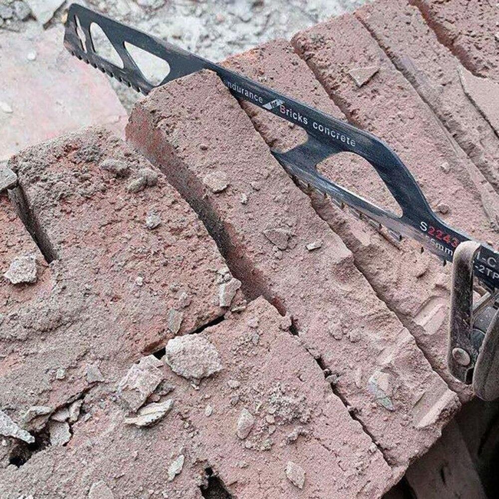 Para la albañilería Saber hoja de sierra herramienta para cortar metal duro WearResistance HighQuality