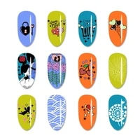 beautybigbang nail stamping plate paperless packaging rectangle valentines day couples rose template nail art image mold plate