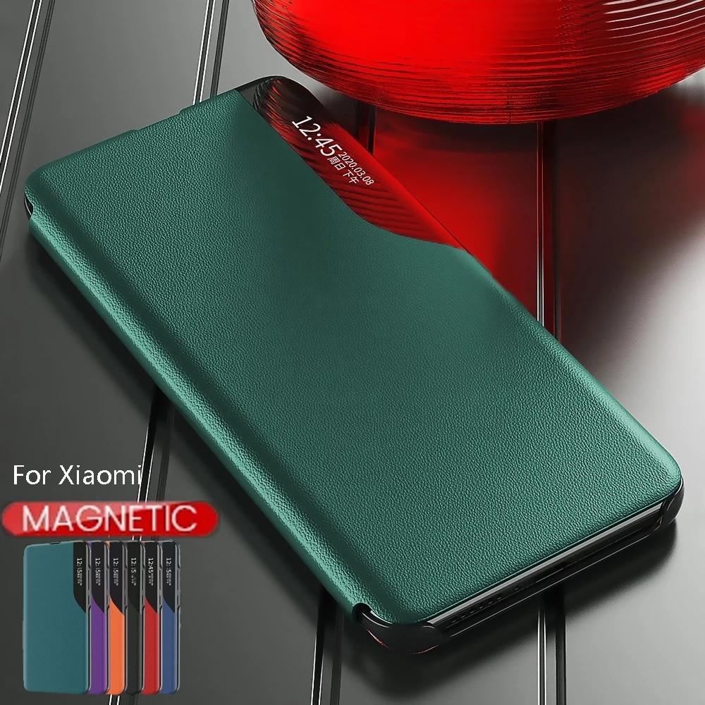 Magnetic Smart Case For Xiaomi Redmi Poco M3 X3 NFC 9A Redme Note 9S 9 s A C 8T On Xiomi Mi 10T Pro 10 T Lite Stand Phone Cover