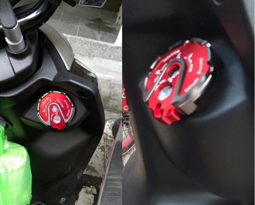 GT мотор-замок ключ зажигания Крышка для YAMAHA BWS ZUMA CYGNUS-X пламя GTR JOG RSZ 100 125
