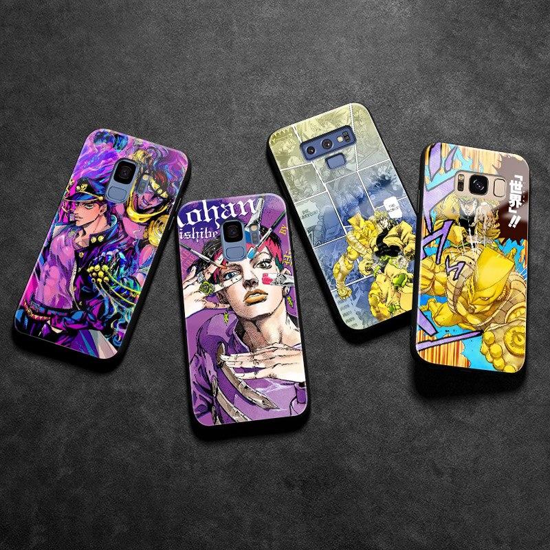 Силиконовый чехол JoJo для Samsung Galaxy S8 S9 S10e S10 S20 Ultra Note 8 9 10 Plus