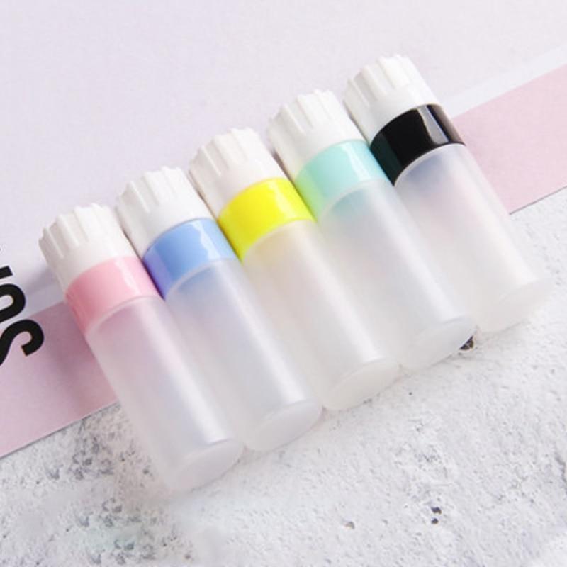 1 teile/los Multicolor Einfach Tragen Portable Kontaktlinsen Pflege flüssigkeit flasche für Reise Brillen Zubehör
