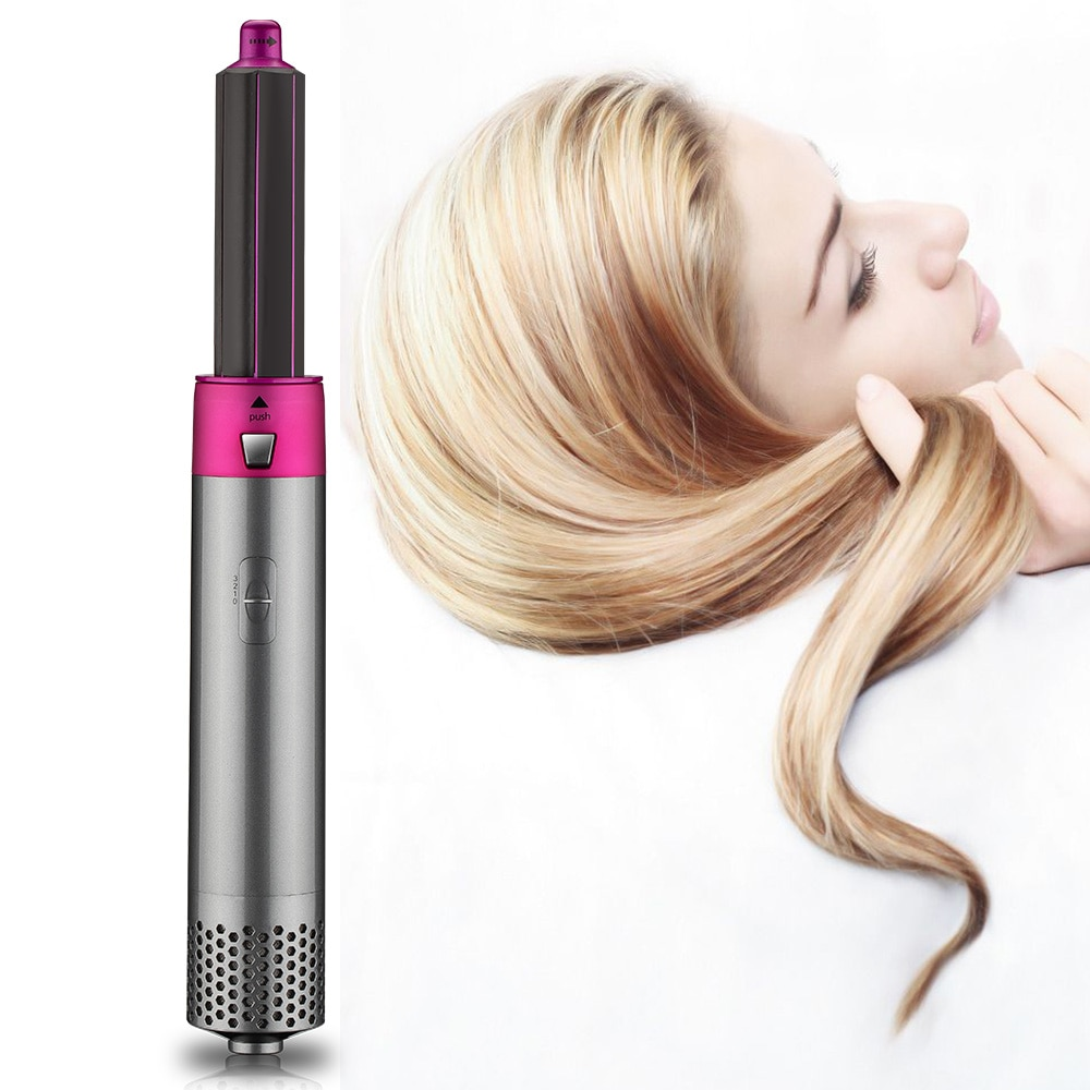 Straightening Curling Iron Roll Styling Brush Hair Styling Tool enlarge