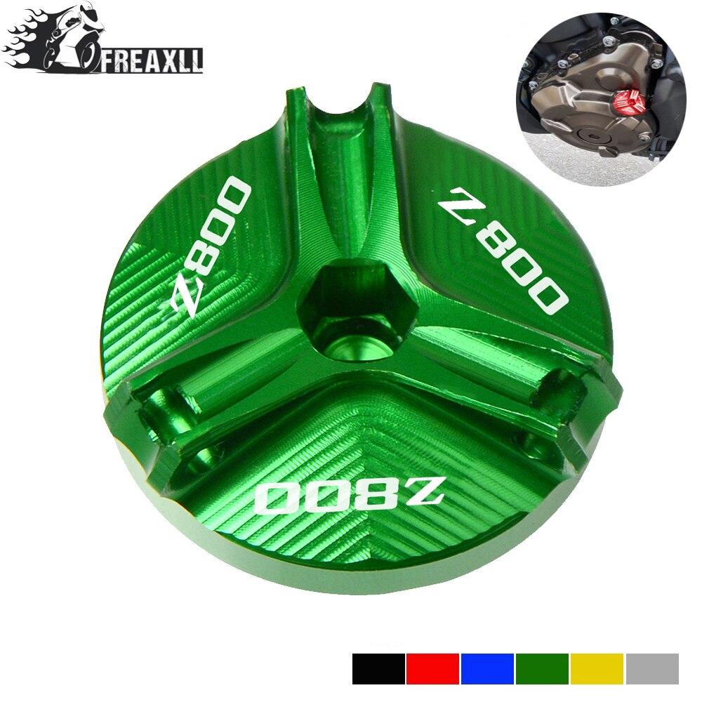 Для Kawasaki Z800 Z 800 2013-2016 2014 2015 Новая мотоциклетная пробка сливная гайка для залива масла крышка крышки с логотипом Z800