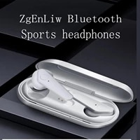 zgenliw tws true wireless headset with high definition microphone cvc 8 0 noise reduction 40 hours of playback time ipx4 wate