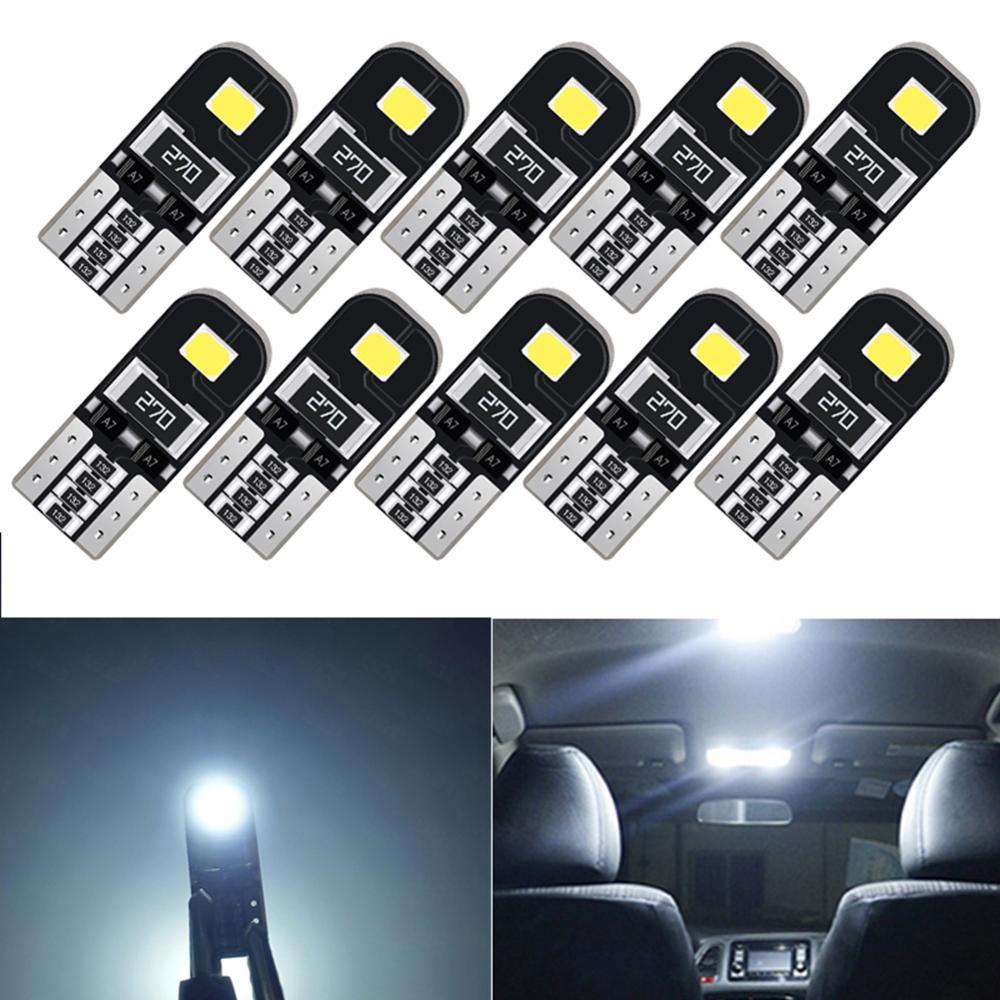 10 Uds W5W T10 194 LED coche de estacionamiento Interior luces para Chevrolet Malibu Matiz Meriva Metro Monte Carlo Optra Orlando P30 P40