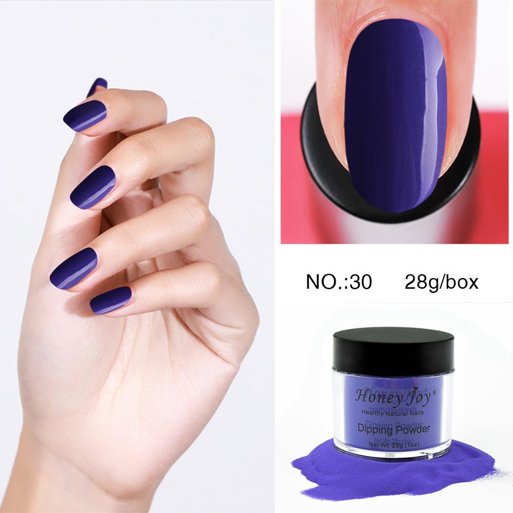 28g/Box Purple Red Blue Dip Powder Nails Dipping Nails Get Stronger Natural Long-lasting Nail No UV Light Needed Safe Odorless