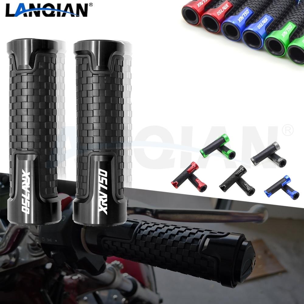 Para honda xrv750 7/8 22mm motocicleta guiador apertos de barra de mão xrv 750 xrv750 L-Y áfrica twin 1990-2003 cnc acessórios