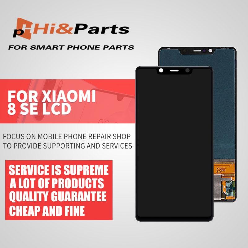 "Pantalla de 5,88 ""para Xiaomi Mi8 SE Mi 8 SE MI8SE pantalla LCD Digitalizador de pantalla táctil sin marco para Mi 8SE LCD"