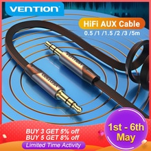 Vention Aux Cable Jack 3.5mm Audio Male to Male Cable 3.5 Jack  Cable for Xiaomi Samsung Car Headpho