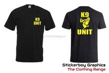 K9 UNIT T SHIRT SIA DOORMAN Patrol Security Dog Unit K9 Handler Dog Handler