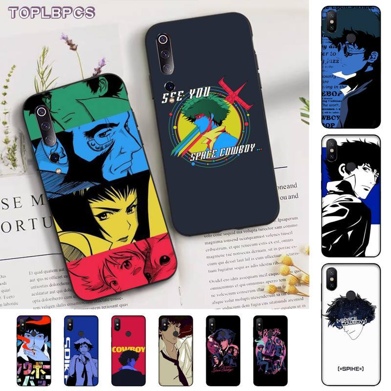 TOPLBPCS Cowboy Bebop funda del teléfono para Xiaomi mi 5 6 plus 6x8 8se 8lite 9 9se 5x10 pro