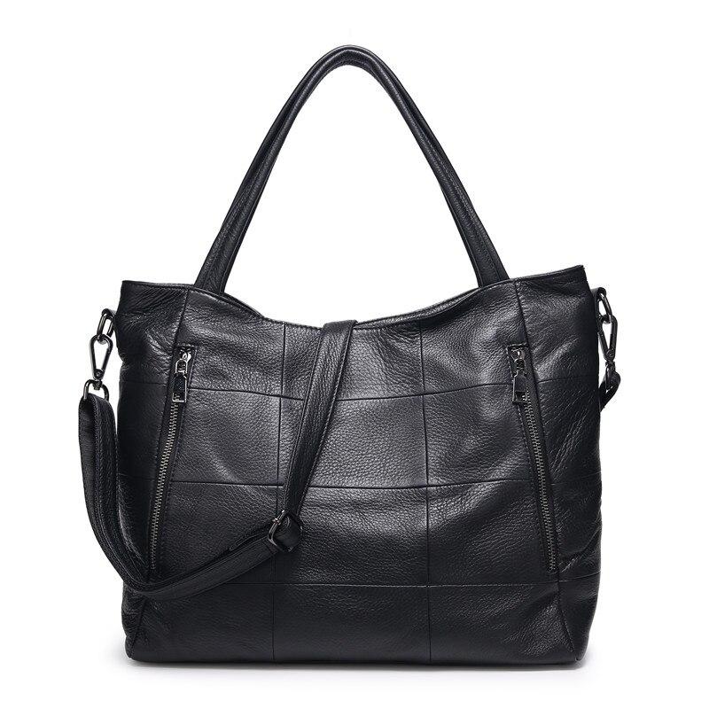 حقائب يد نسائية فاخرة مصممة ، حقيبة كتف نسائية من الجلد الطبيعي ، حقيبة كتف غير رسمية ذات سعة كبيرة ، 2020